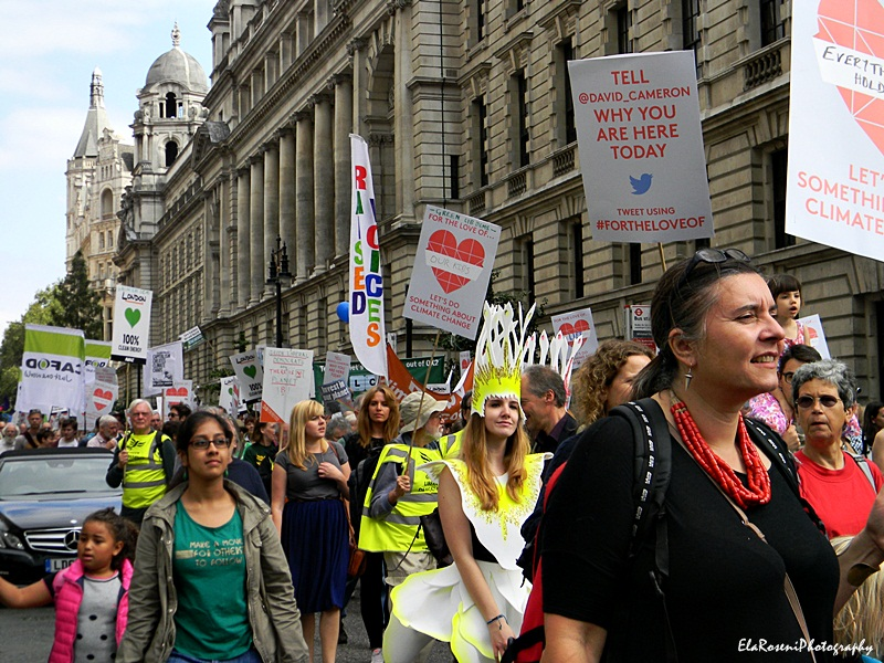 london people's climate march